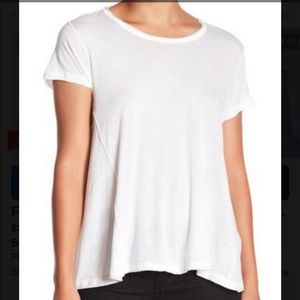 Free People white tee NWT Large